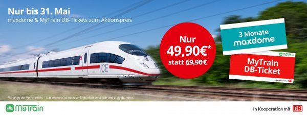Maxdome Deutsche Bahn
