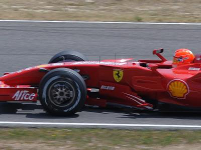 Schumacher bei Tests