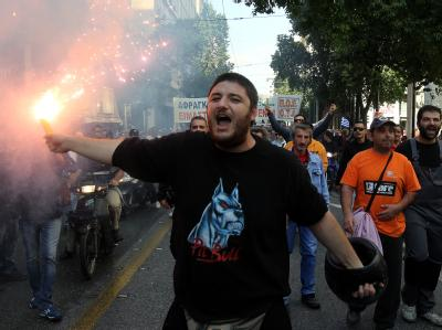 Proteste in Athen