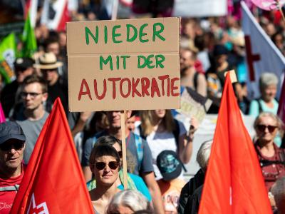 Demonstration gegen IAA