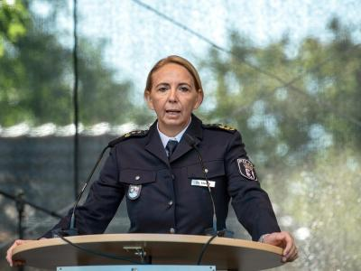 Berlins Polizeipräsidentin Barbara Slowik