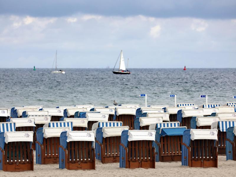 Strandkörbe in Warnemünde