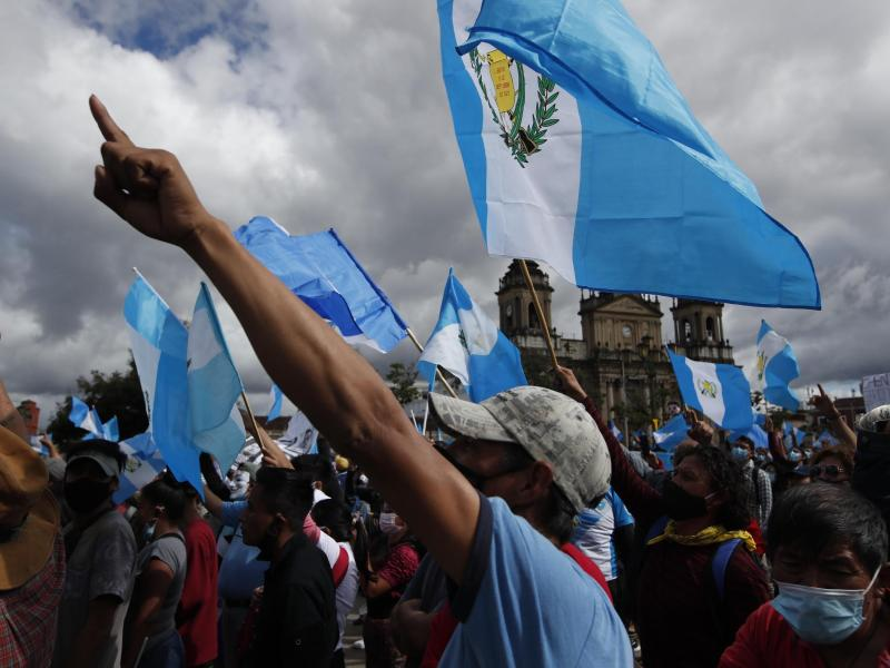 Protest in Guatemala