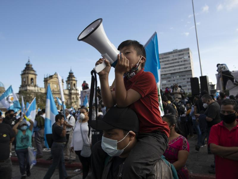 Proteste in Guatemala