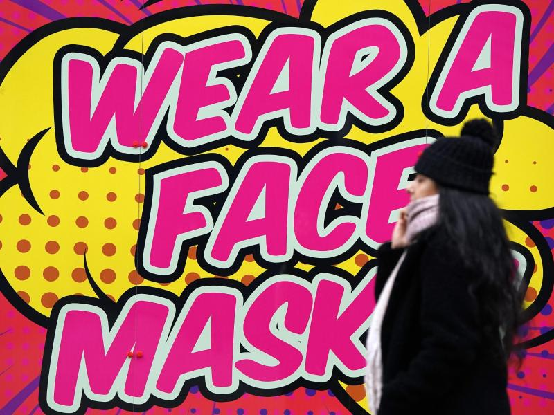 «Wear a fask mask»